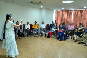 Diet, Exercise and Meditation Session (24 March 2018)